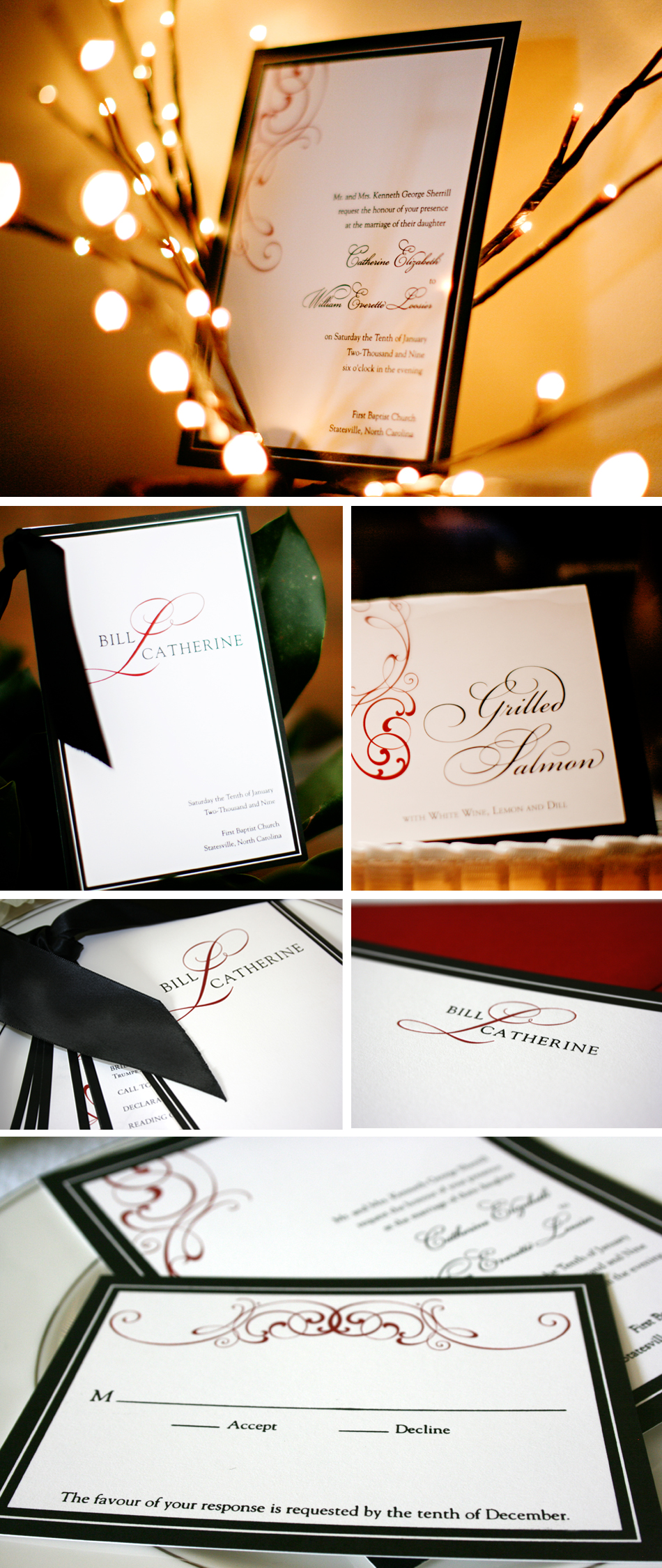 Wedding Photo Invitations is luxury invitations template