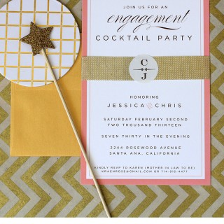 engagement cocktail party